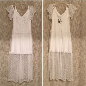 Disney's Pirates of the Caribbean White Lace Dress